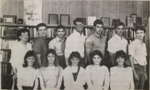 1986 Journalism Class