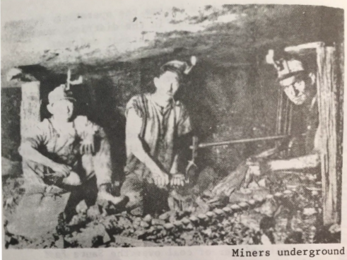 miners underground