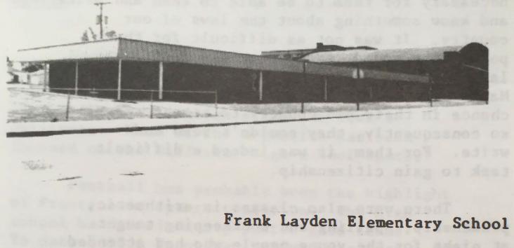 Frank Layden Elementary