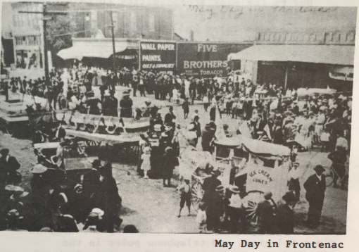 May day in Frontenac