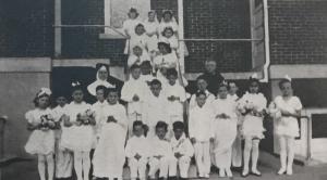 Catholic-Church-First-Communion-1943